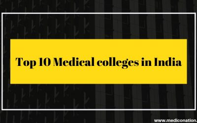 Top 10 medical colleges in India 2019